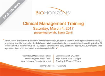 Clinical Management Training